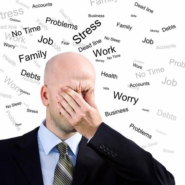 Căng thẳng thần kinh làm giảm chất lượng tinh trùng