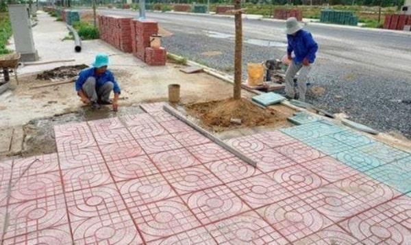 Hướng dẫn cách thi công gạch terrazzo tại TPHCM hiệu quả