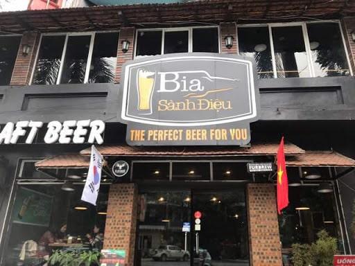 Bia sành điệu - Nơi thưởng thức bia thủ công tuyệt nhất Hà Nội