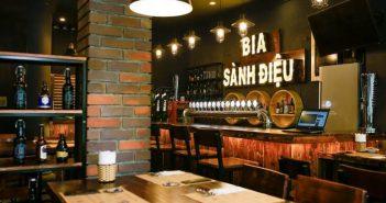 Thưởng thức hương vị bia thủ công tại quán bia Sành Điệu