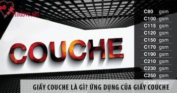 Giấy Couche là gì? Ứng dụng của giấy Couche