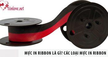 Mực in ribbon là gì? Các loại mực in Ribbon cơ bản