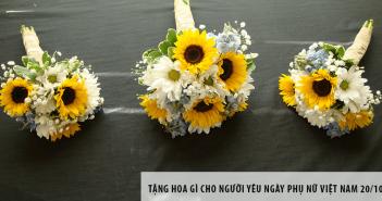Tặng hoa gì cho người yêu ngày Phụ nữ Việt Nam 20/10?