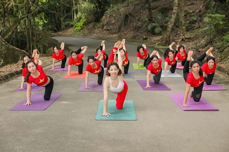Bạn có thể tập yoga, thiền định tại Medi Thiên Sơn